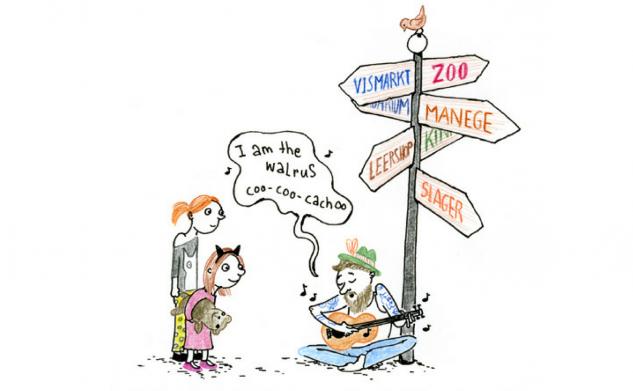 Strip over dierenrechten