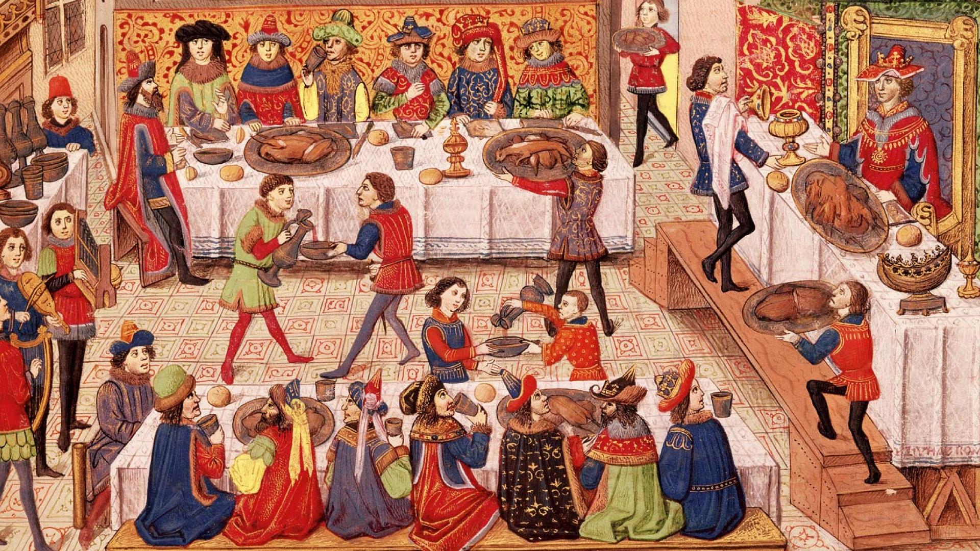 Vlees eten in de middeleeuwen